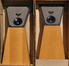 Vintage Spica Angelus Speakers Stock with ORIGINAL BOX Made in USA