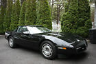 Chevrolet Corvette Base Coupe with Removable Glass Top 1987 chevrolet corvette base coupe 2 door 57 l with removable glass top