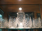 Powerscourt Waterford Crystal Water Goblet and Pitcher Set