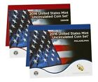 2016 US Mint Annual Uncirculated Set 13 D  13 P Coins Sealed Mint Box  COA