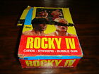 Rocky IV Topps 1984 35 Packs Trading Cards Box