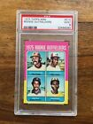 1975 Topps Mini Rookie Outfielders Jim Rice PSA 9