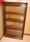 Antique Barrister Bookcase, 1900's, Gunn Sectional Bookcase, 4-Stack, EUC