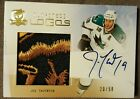 2010 The Cup Joe Thornton Limited Logos SICK PATCH Auto 20 50 San Jose Sharks