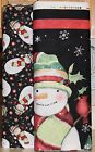 Susan Winget Stay Warm Snowman Fabric SOLD SEPARATELY Springs Creative