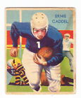 1935 National Chicle #30 Ernie Caddel Rookie Football Card; High Number Rare!!!