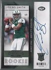 2013 Contenders Rookie Ticket SP Variation Geno Smith On Card Auto Rc