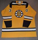 NWT Gerry Cheevers Boston Bruins Mitchell Ness Authentic 1966-67 Jersey 60 RARE