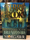 Morgawr by Terry Brooks Signed 1st 1st The Voyage of the Jerle Shannara Bk 3