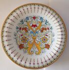 New Deruta Italy Hand Painted Wall Plate/Large Centerpiece 18.5