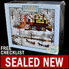 NEW Charles Wysocki - Evening Sled Ride - 1000 Piece Puzzle Snowy Mountainside