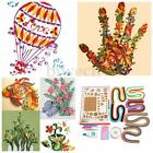 1 Set Quilling Paper Origami Mixed Color Rolling Craft DIY Needle Board Tool Kit