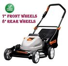 19Cordless Electric Mower Side Discharge Mulch Rear Bag Remington 2year warrant