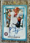 2011 Bowman Prospects Blue Bryce Harper Auto #057 250