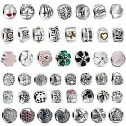 Silver Clip European Charm Beads For Sterling 925 Necklace Bracelet Chains us
