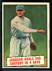 Walter Johnson Cards and Autograph Guide 5