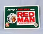 RED MAN CHEWING TOBACCO METAL SIGN 1996 12 x 18