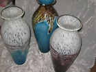 Tall Hand Blown Glass Vase Flowers Decorative Urn Shape Home Gift NEW