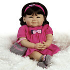 Su Lin Sunday Best 20 inch Realistic Asian Baby Doll in Vinyl  Weighted Body