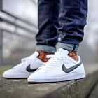 Nike Tennis Classic Mens Shoes Trainers White Black Leather 312495 129 SIZES NEW