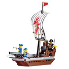Pirate series :The brave. super brava a pirate boat  167pcs fit lego #30002