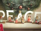 Holiday Time 5 Piece Peace Nativity Set Childrens Mantle Christmas Accessory