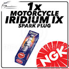 1x NGK Iridium IX Spark Plug for HYOSUNG 125cc XRX125 (SOHC engine) -
