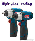 10.8V impact wrench & cordless drill Impact Driver - Twin Pack Silverline 459654