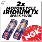 2x NGK Iridium IX Spark Plugs for JAWA-CZ 350cc CZ350 Sport / Chopper 84-