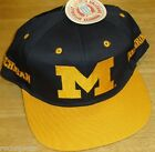 Michigan Wolverines Vintage 90s Snapback hat NEW WITH TAGS Original NCAA