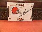 National Treasures Signature Auto Patches Autograph Browns Jim Brown 18 26 2008
