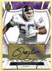 2013 Topps Supreme Purple #LTA Lawrence Taylor Autograph Card #4 5