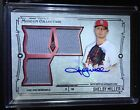 2015 Topps Museum Collection SHELBY MILLER TRIPLE JERSEY RELIC AUTO #001 199 #1!