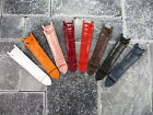 21mm Leather Strap Top Grade Watch Band Deployment Clasp Buckle CARTIER PASHA 21