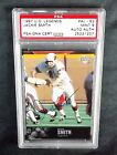 1997 UPPER DECK LEGENDS #AL-62 NFL HOF JACKIE SMITH PSA DNA SIGNED AUTO PSA 9 NQ