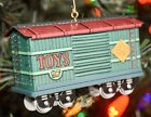 Hallmark: Yuletide Central - 1997 Toy Box Car - Series 4th - Keepsake Ornament