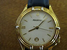 #279 mans stainless steel and gold plate swiss ACCUTRON watch