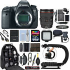 Canon EOS 6D DSLR Camera with 24 105mm f 4L IS USM Lens + 64GB Pro Video Kit