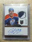 2013-14 Panini Dominion Hockey Rookie Patch Autograph Guide 70