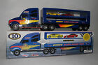 SUNOCO CAR TRANSPORTER. SUNOCO CLASSIC RACING TEAM, BOXED