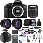 Canon EOS Rebel T6 DSLR Camera + EF S 18 55mm IS II Lens Kit + 16GB Bundle