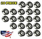 6205 2RS Ball Bearing Dual Sided Rubber Sealed Deep Groove 20PCS