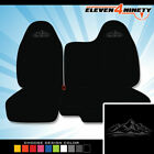 04-12 Chevy Colorado Black 60-40 Bench Seat Covers. Mountain Design. Many Colors