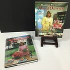 Vintage 1983 1984 MARTHA STEWART Hors Doeuvres and Quick Cook Autographed HB