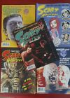 Scary Monsters and Creepy Magazine Warren 10 issue MISFIT Lot