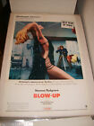BLOW UP 1966 MICHELANGELO ANTONIONI ORIGINAL AUTHENTIC 27x41 MOVIE POSTER 448