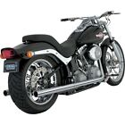 Softail Duals Exhaust System Vance  Hines 16893