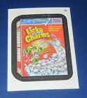 WACKY PACKAGES ANS11 CLOTH STICKER #20 LICKY CHARMS   @@ RARE @@   NM/MT