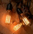 Vintage Elegan Style Outdoor Commercial Patio String Lights with 15 Nostalgic...