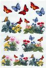 Rub On Transfers Butterflies Everyday Memories Qty 5 6x9 Sheets